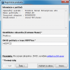 Registrácia C - Monitor klienta manuálnym zadaním CM ID a identifikátora zákazníka manuálne