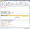 Email upozorňujúci na zmenu stavu požiadavky na ponuka v plnej forme
