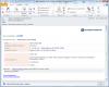 Email upozorňujúci na novú požiadavku v skrátenej forme