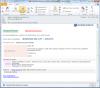 Email upozorňujúci na zmenu stavu požiadavky na ukončená v skrátenej forme