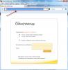 Adresa pre web acces, ktorú skopírujete do nastavení watchu
