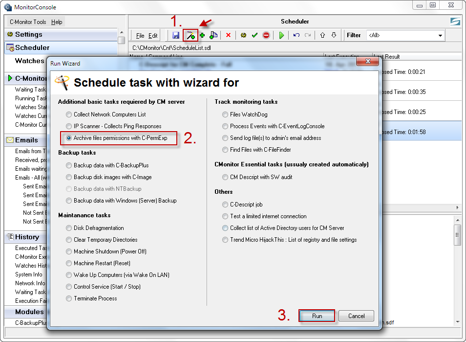 Customer Monitor | CM NTFS Permissions